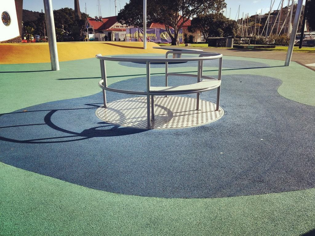 Accessible play Town Basin playground Whangarei